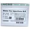 B BRAUN  WATER FOR INJ・ B・P・