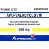 APO-VALACYCLOVIR CAPLET 500MG