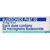Budesonide PH&T 50