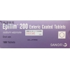 EPILIM 200 ENTERIC-COATED TAB 200MG