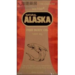 美国亚拉斯加深海鱼油丸 Alaska Fish Body Oil