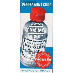 法國雙飛人葯水 ALCOHOL DE MENTHE DE RICQLES