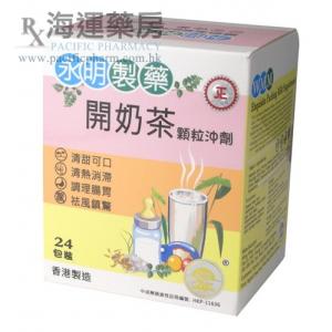 永明開奶茶顆粒沖劑