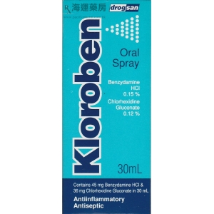 KLOROBEN ORAL SPRAY