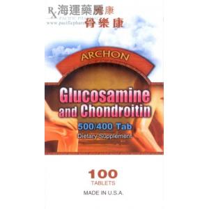 雅康骨樂康 GLUCOSAMINE AND CHONDROITIN (ARCHON)