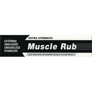 美國基栢強力肌肉鎮痛摩擦膏 EXTRA STRENGTH MUSCLE RUB (PERRIGO)