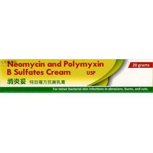 消炎妥 NEOMYCIN AND POLYMYXIN B SULFATES CREAM USP (AMRIYA)