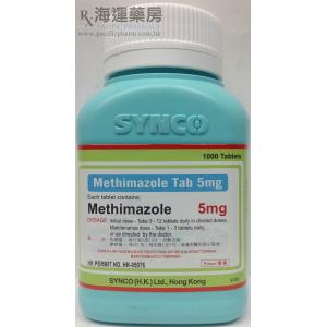 METHIMAZOLE TAB 5MG (SYNCO)