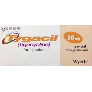 TYGACIL FOR INJ 50MG