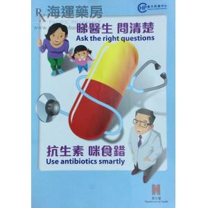 睇医生问清楚  抗生素咪食错